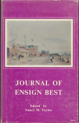 cover image of The Journal of Ensign Best 1837-1843