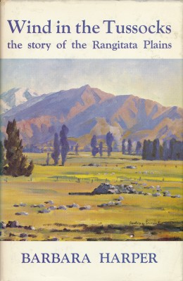 cover image of Wind in the Tussocks The Story of the Rangitata Plains for sale in New Zealand