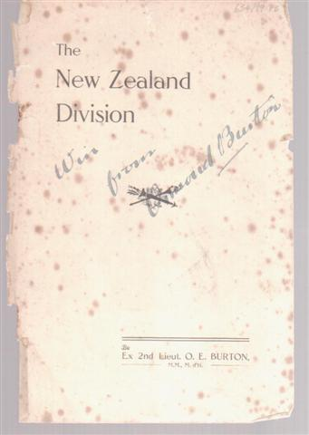 cover image of Our Little Bit; a brief history of the New Zealand Division for sale in New Zealand