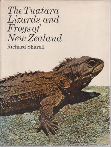 cover image of The Tuatara, Lizards and Frogs of New Zealand for sale in New Zealand