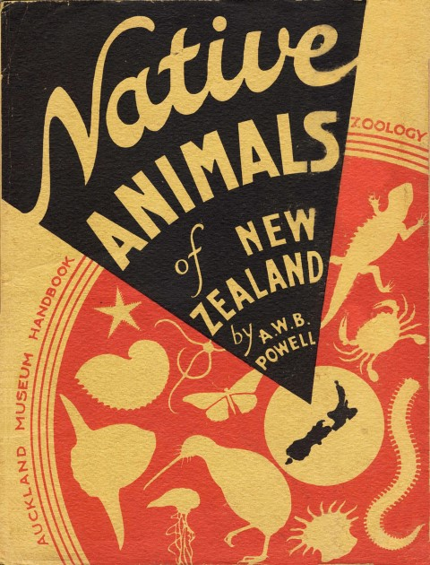 cover image of Native Animals of New Zealand, Auckland Museum Handbook of Zoology