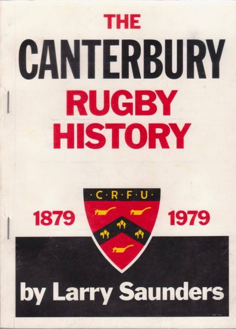 cover image of The Canterbury Rugby History 1879-1979
