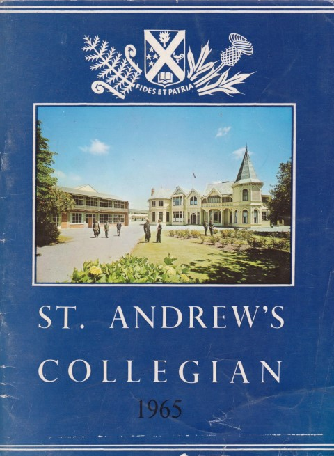 cover image of St Andrews Collegian 1965