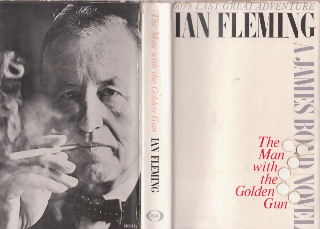 cover image of The Man with the Golden Gun, US edition