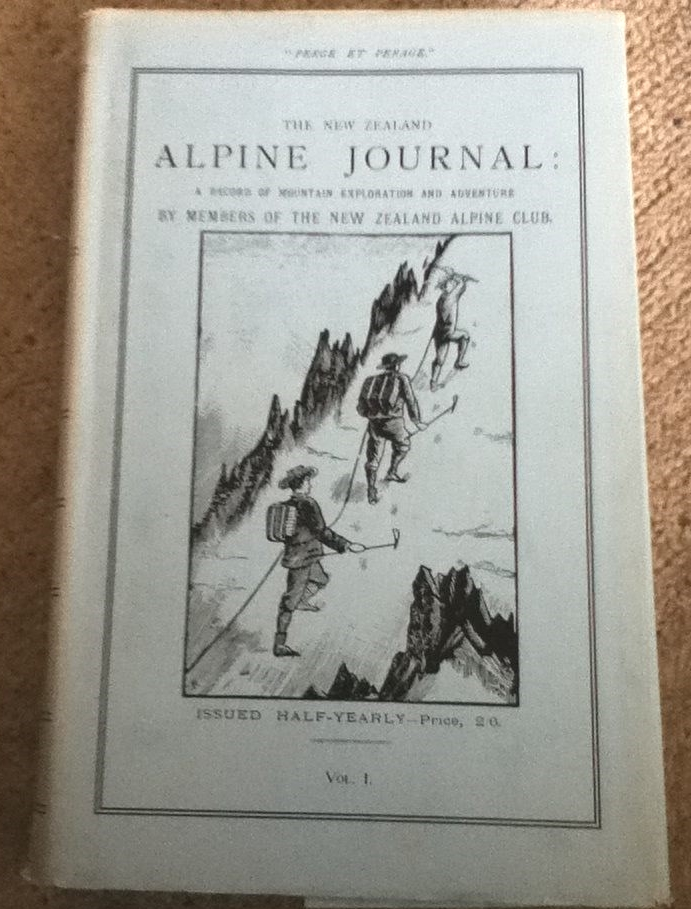 cover image of The New Zealand Alpine Journal: A Record Of Mountain Exploration And Adventure