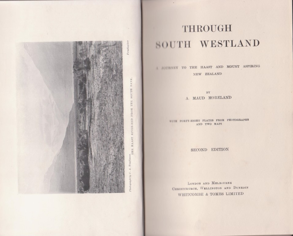 cover image of Through South Westland: A Journey to the Haast and Mount Aspiring New Zealand