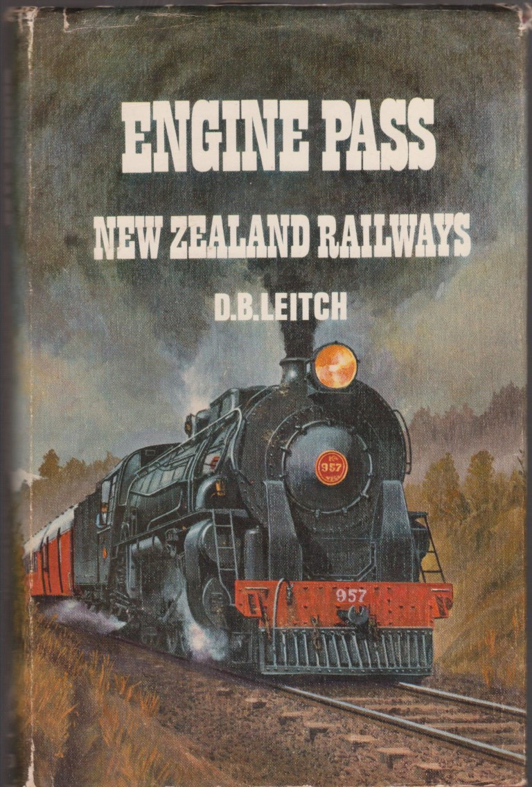 cover image of Engine Pass, New Zealand Railways