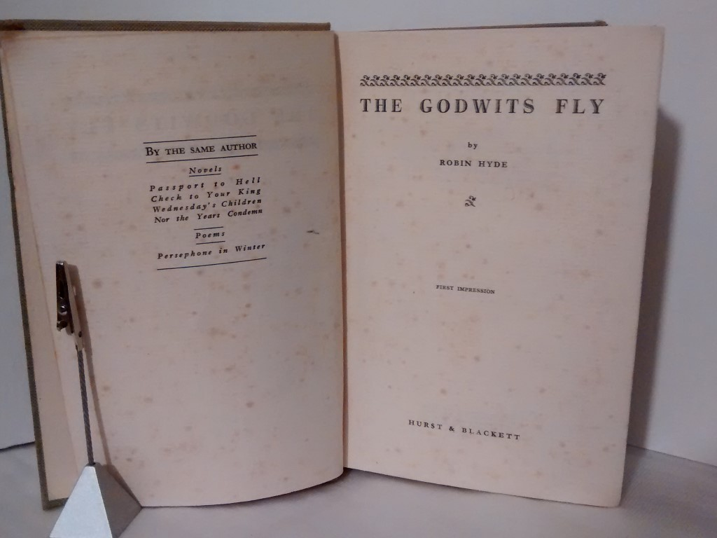 cover image of The Godwits Fly, First impression