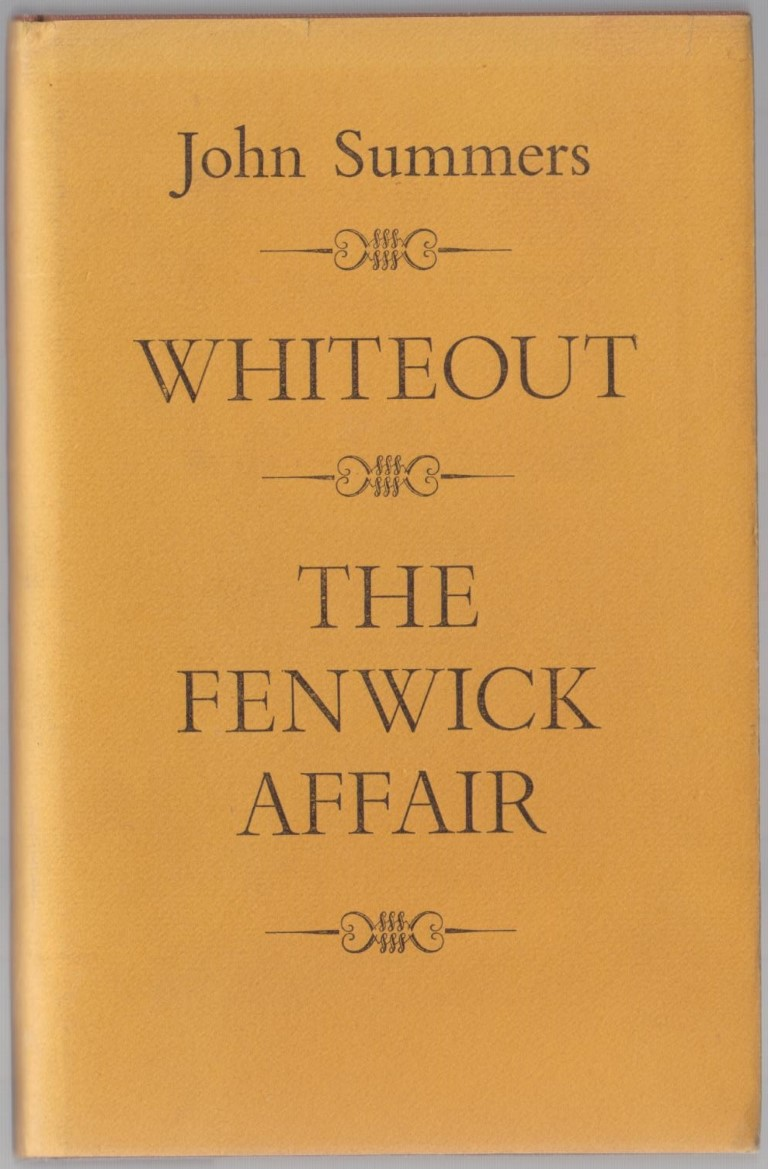 cover image of Whiteout, and, The Fenwick Affair for sale in New Zealand