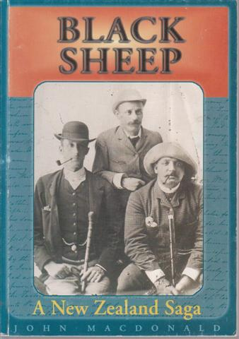 cover image of Black Sheep, a New Zealand Saga for sale in New Zealand
