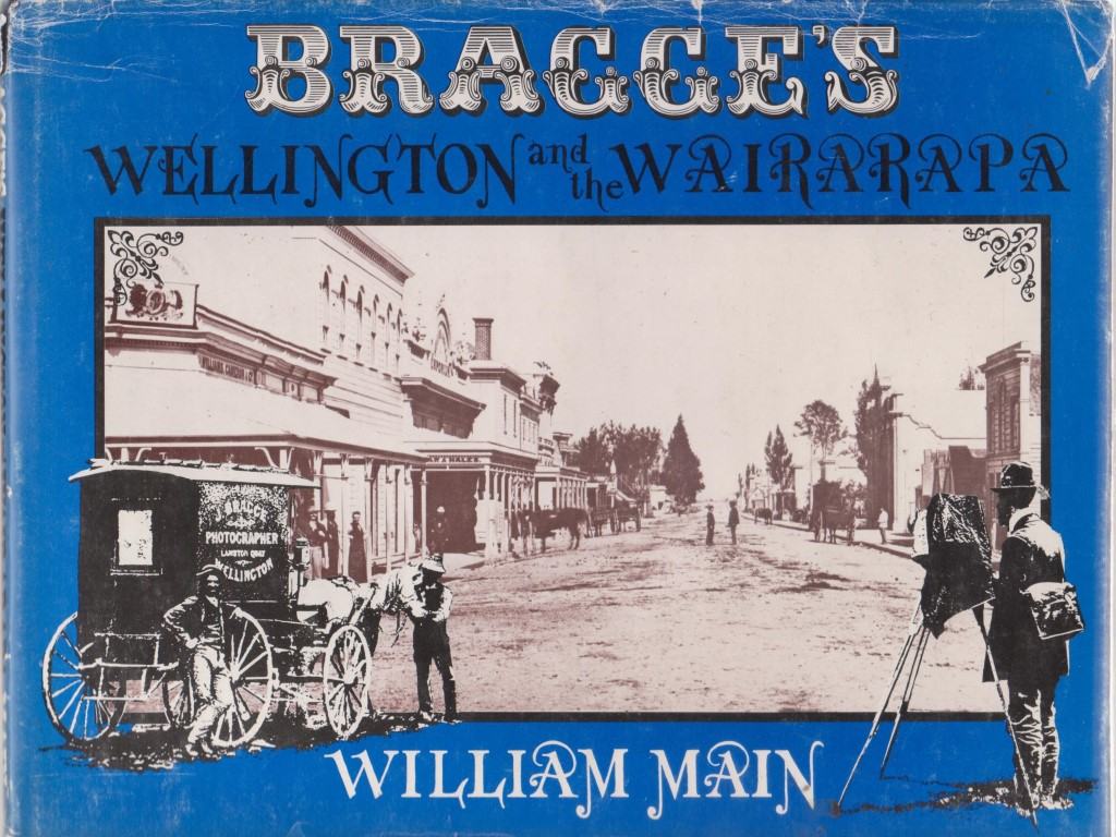 cover image of Bragge's Wellington and the Wairarapa for sale in New Zealand