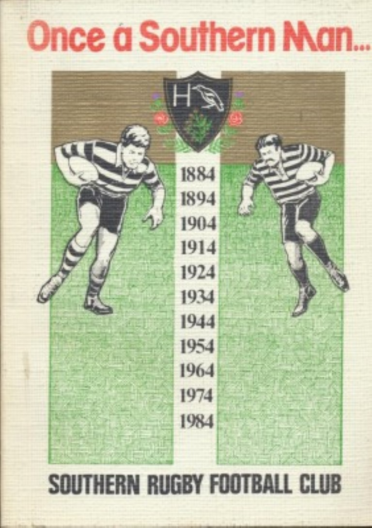 cover image of Once a Southern Man... The history of the Southern Rugby Football Club 1884-1984. for sale in New Zealand
