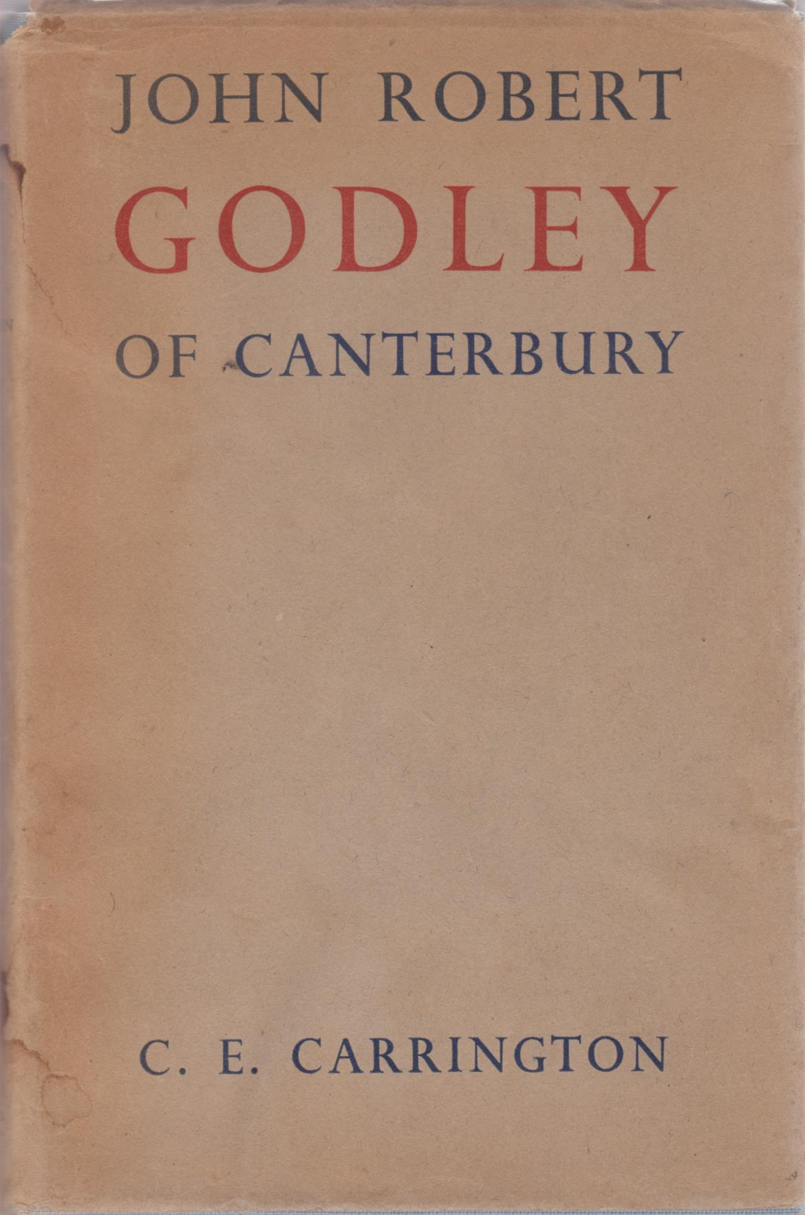 cover image of John Robert Godley of Canterbury for sale in New Zealand
