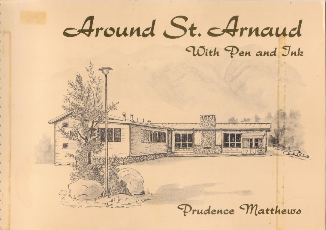 cover image of Around St Arnaud, With pen and ink by Prudence Matthews for sale in New Zealand