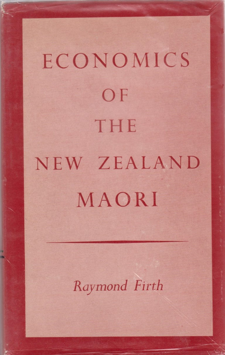 cover image of Economics of the New Zealand Maori for sale in New Zealand