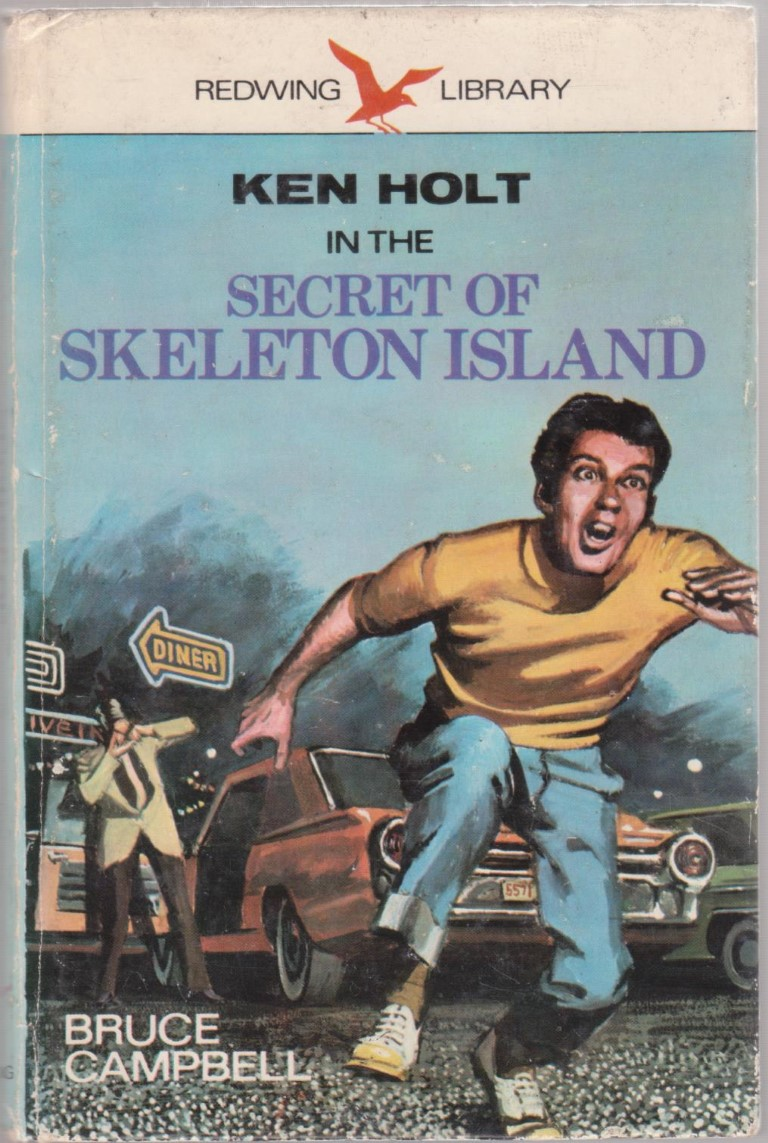 cover image of Ken Holt in the Secret of Skeleton Island