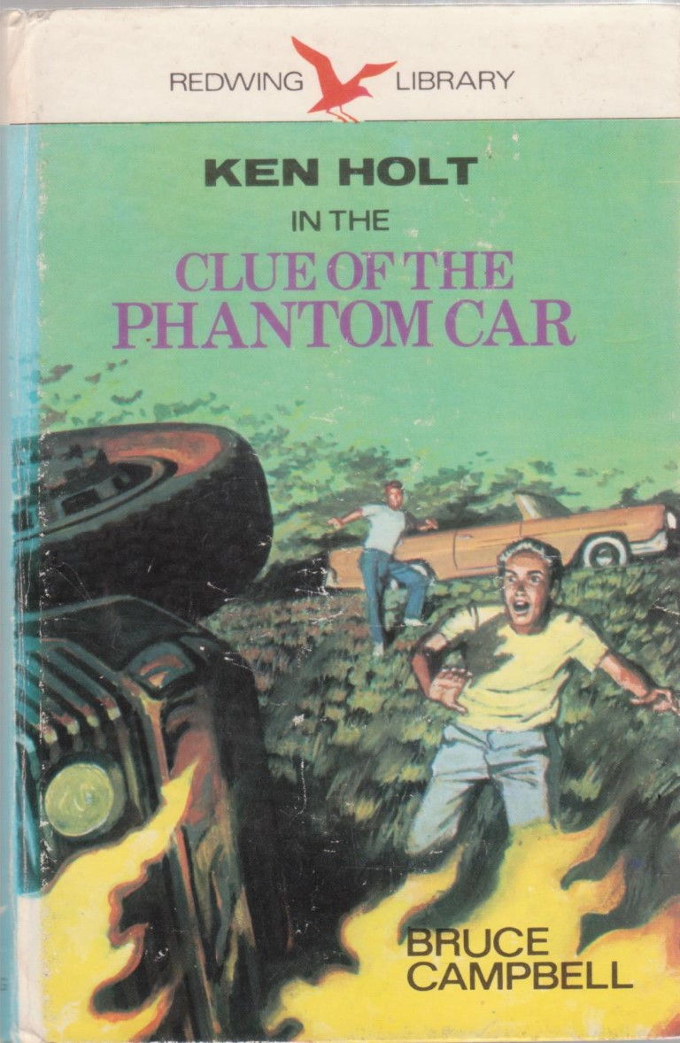 cover image of Ken Holt in the Clue of the Phantom Car for sale in New Zealand