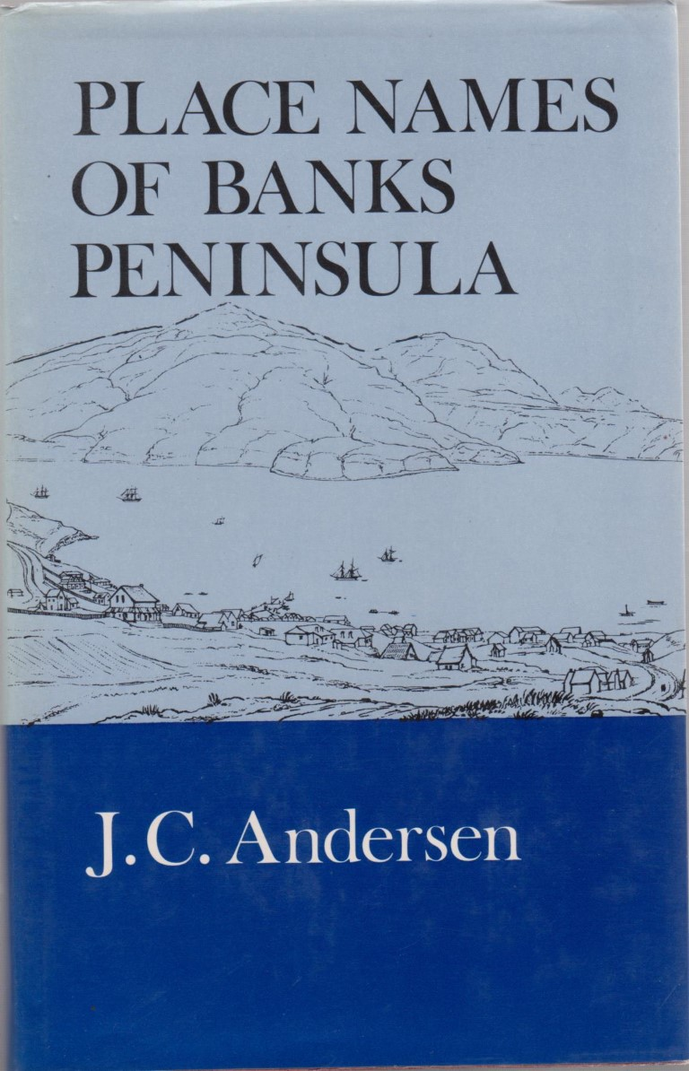 cover image of Place-Names of Banks Peninsula: A Topographical History for sale in New Zealand