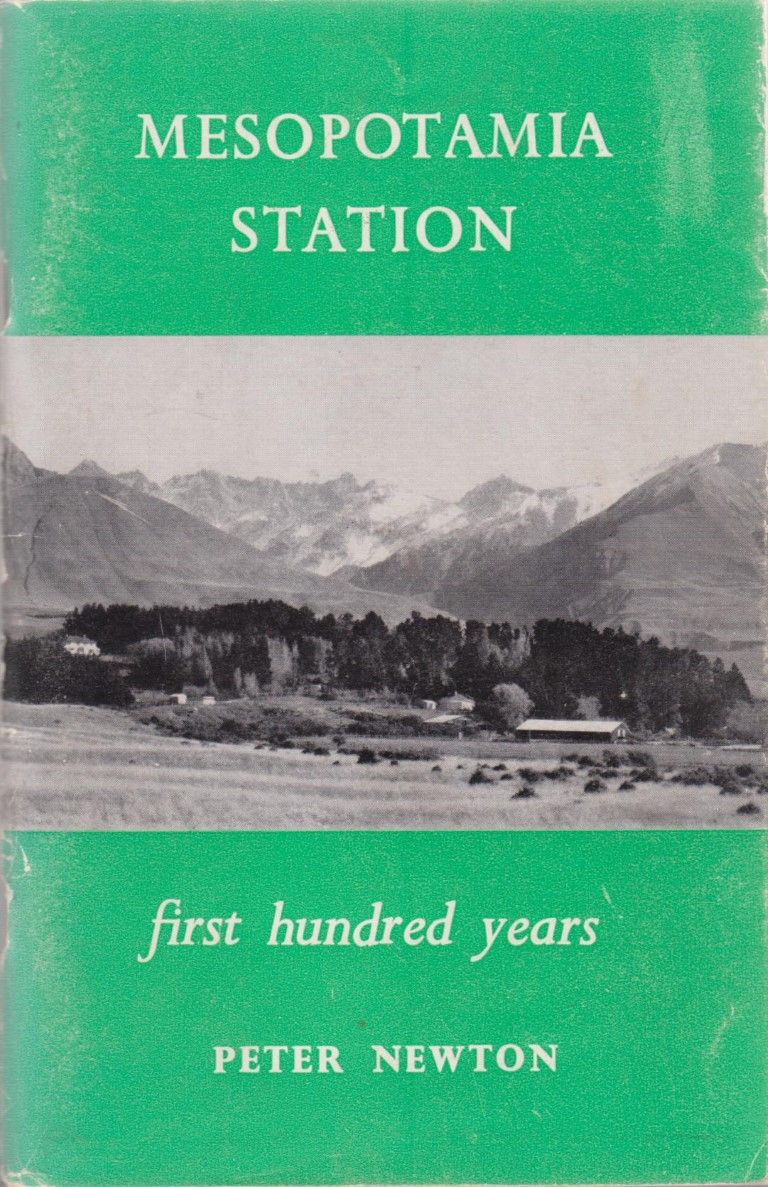 cover image of Mesopotamia Station a survey of the first hundred Years for sale in New Zealand