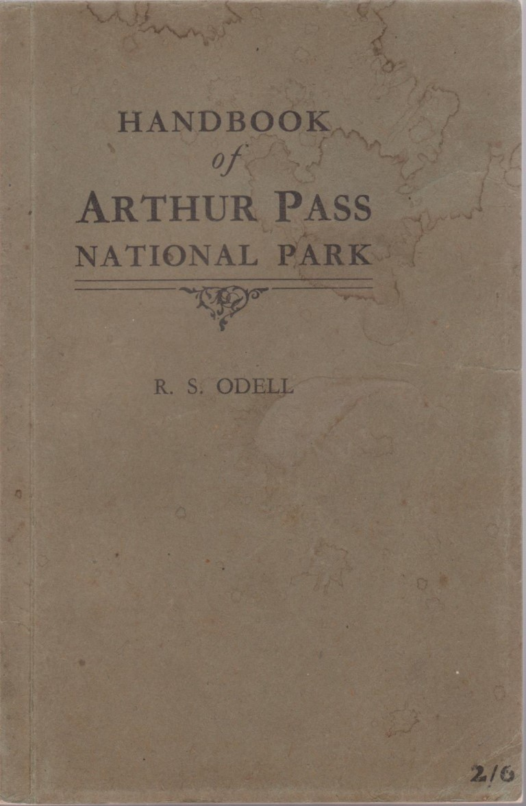 cover image of Handbook of Arthur Pass National Park: Its History, Tracks, Climbing Routes, Place Names, Geology, Botany for sale in New Zealand
