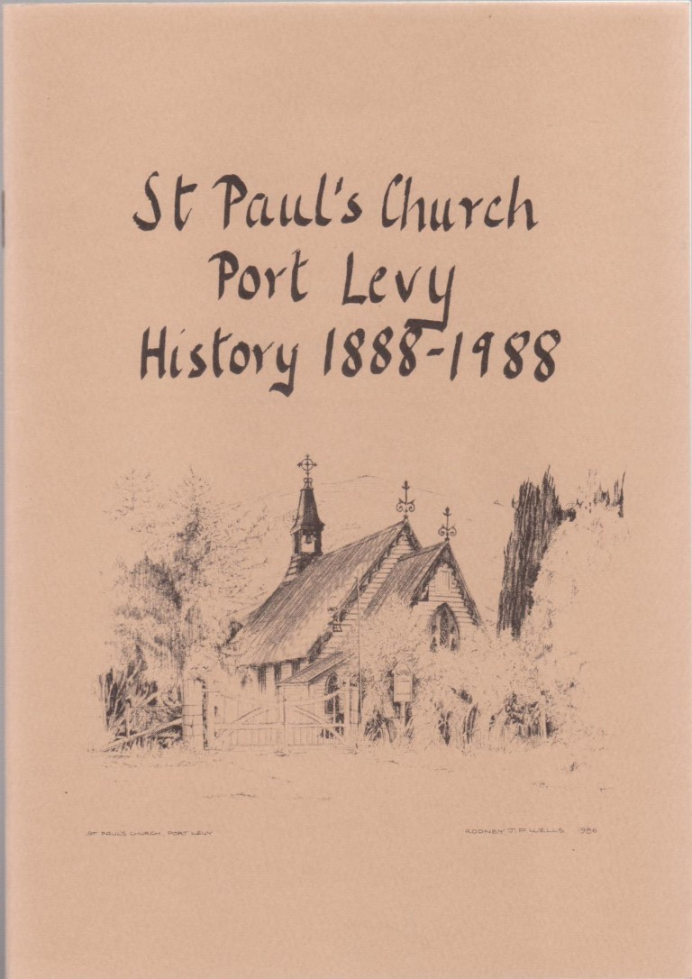 cover image of History 1888-1988 of St Paul's Church, Port Levy.for sale in New Zealand
