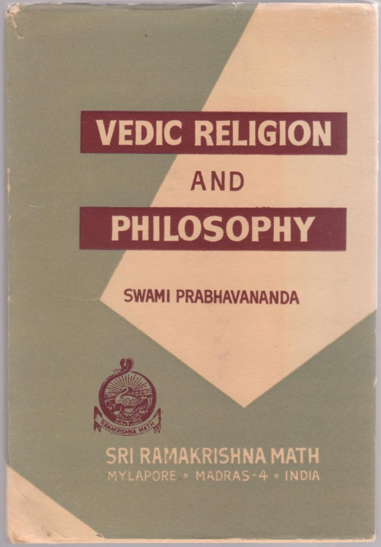 cover image of Vedic Religion and Philosophy for sale in New Zealand