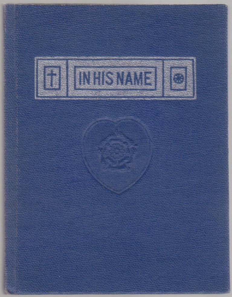 cover image of In His Name by Jinarajadasa for sale in New Zealand