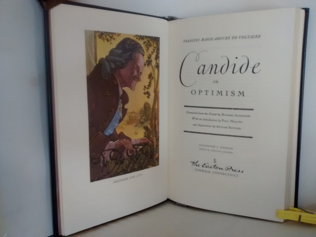 cover image of Candide, or Optimism by the Easton Press for sale in New Zealand