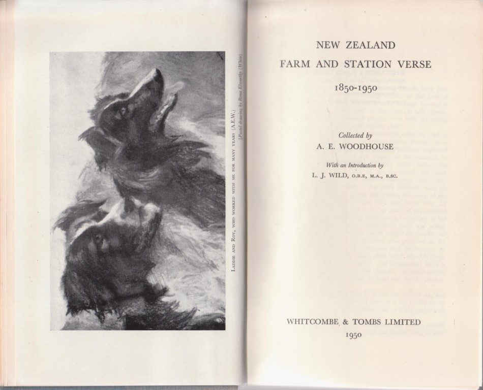 cover image of New Zealand Farm and Station Verse 1850-1950 for sale in New Zealand