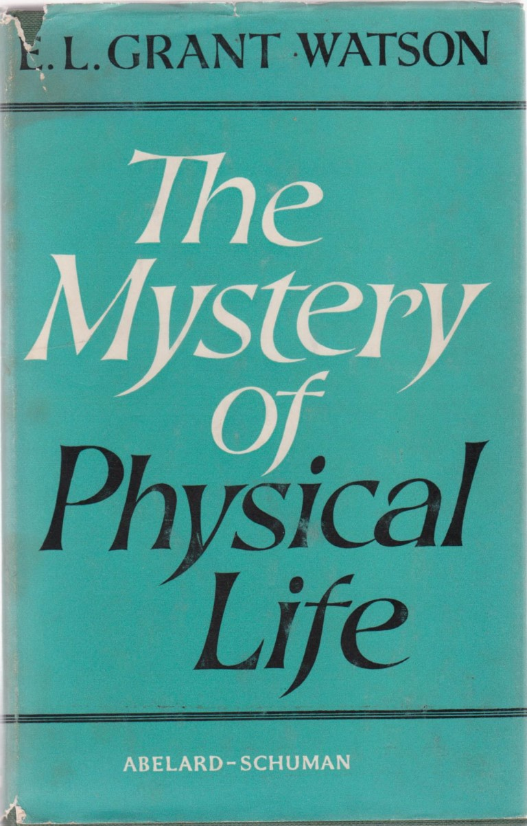 cover image of The Mystery of Physical Life for sale in New Zealand