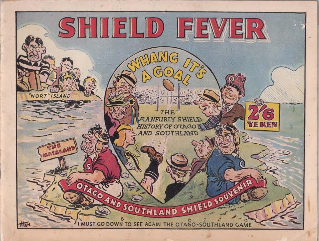 cover image of Shield Fever The Ranfurly Shield History of Otago and Southland for sale in New Zealand