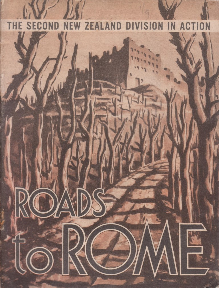 cover image of Roads to Rome, With the Second New Zealand Division from Maadi to Florence for sale in New Zealand