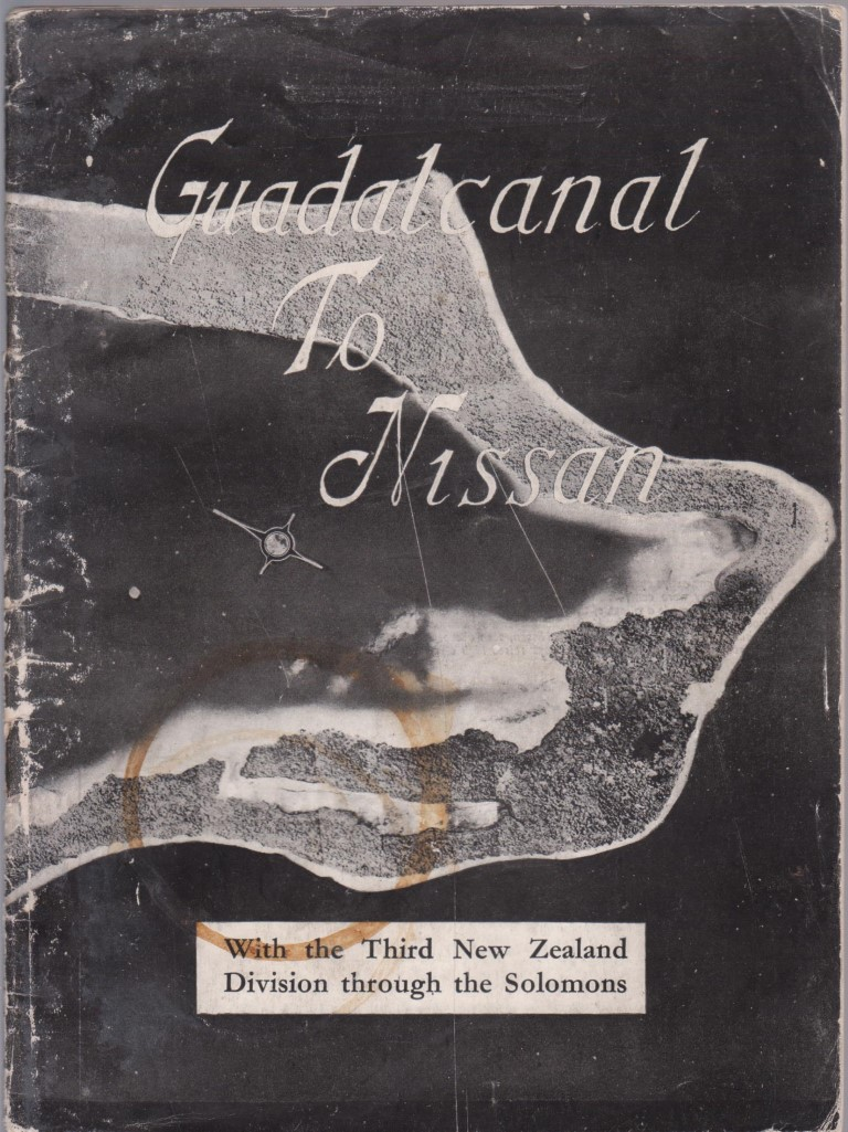 cover image of Guadalcanal to Nissan. With the Third New Zealand Division through the Solomons for sale in New Zealand