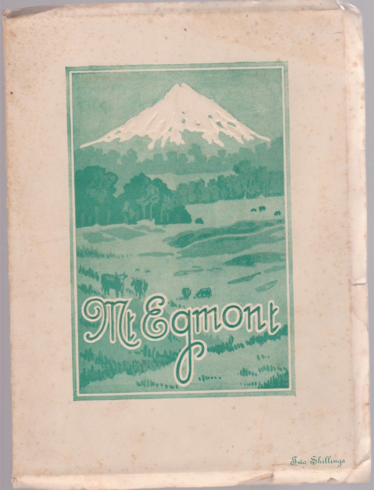 cover image of Mt Egmont by B E Baughan for sale in New Zealand