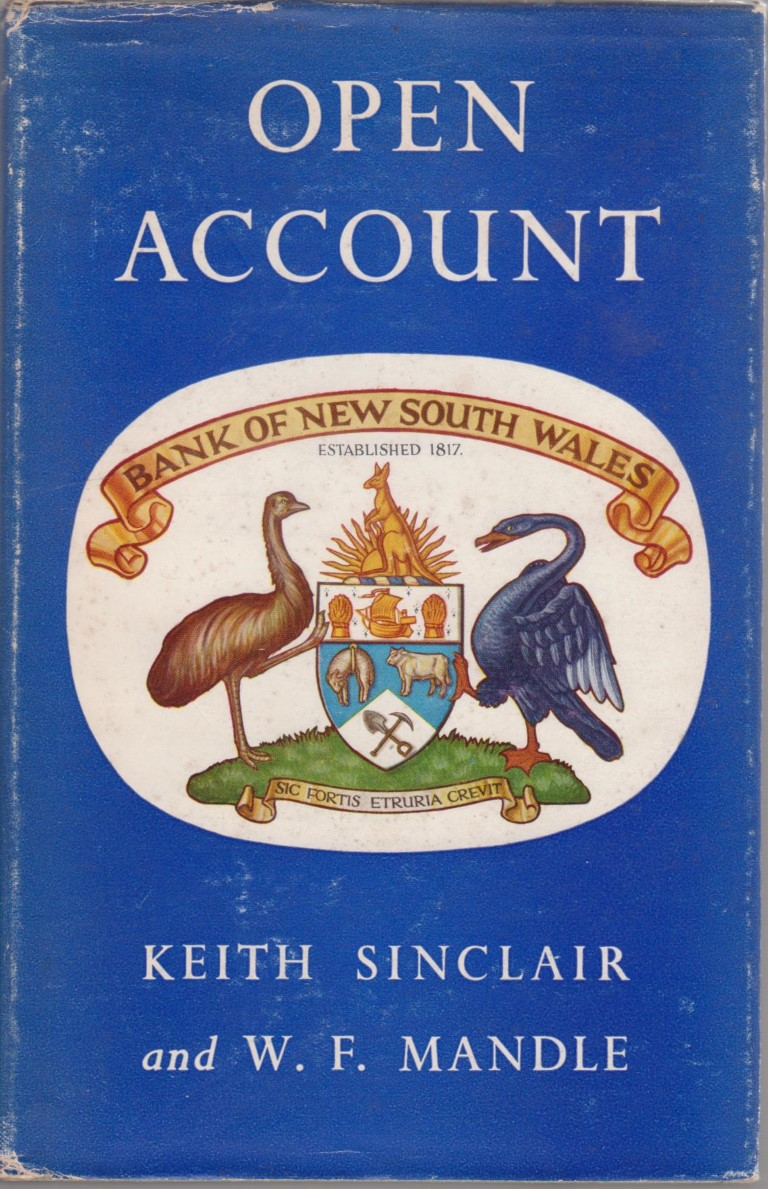 cover image of Open Account.  A History of the Bank of New South Wales in New Zealand 1861-1961 for sale in New Zealand