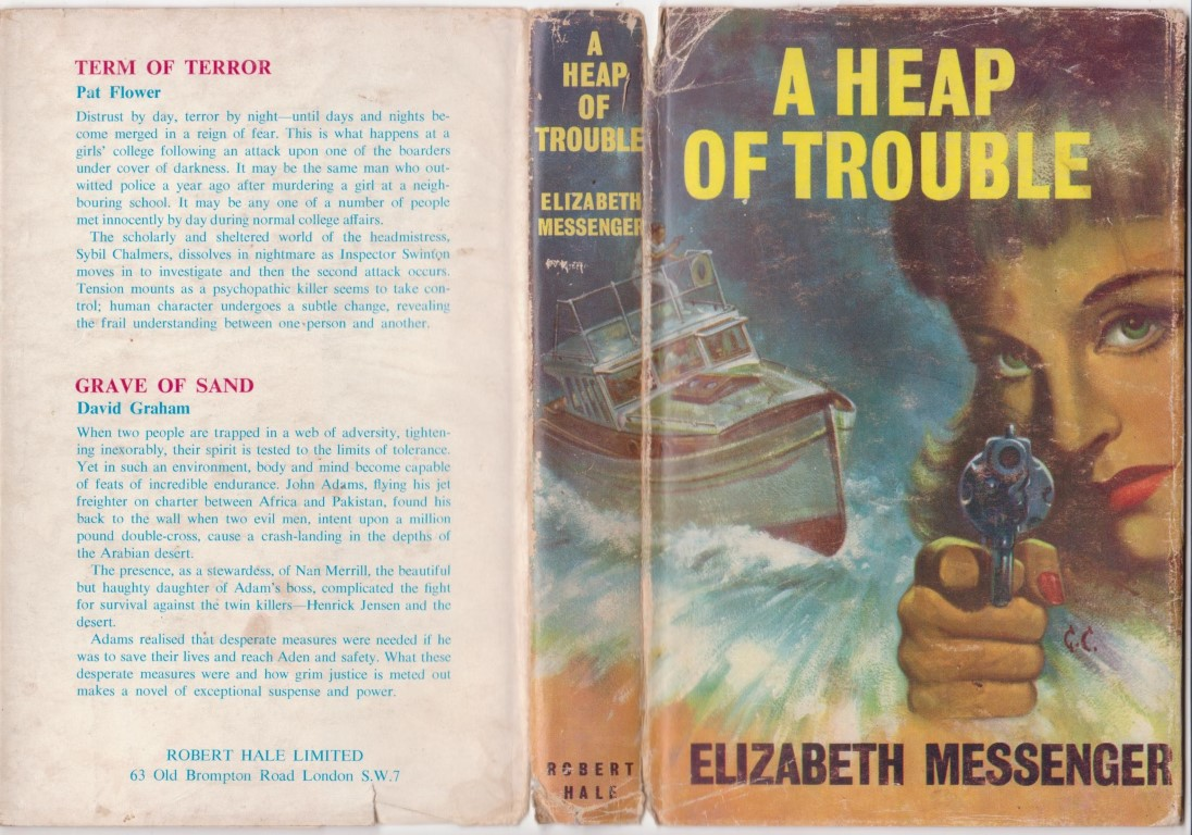 cover image of A Heap of Trouble for sale in New Zealand