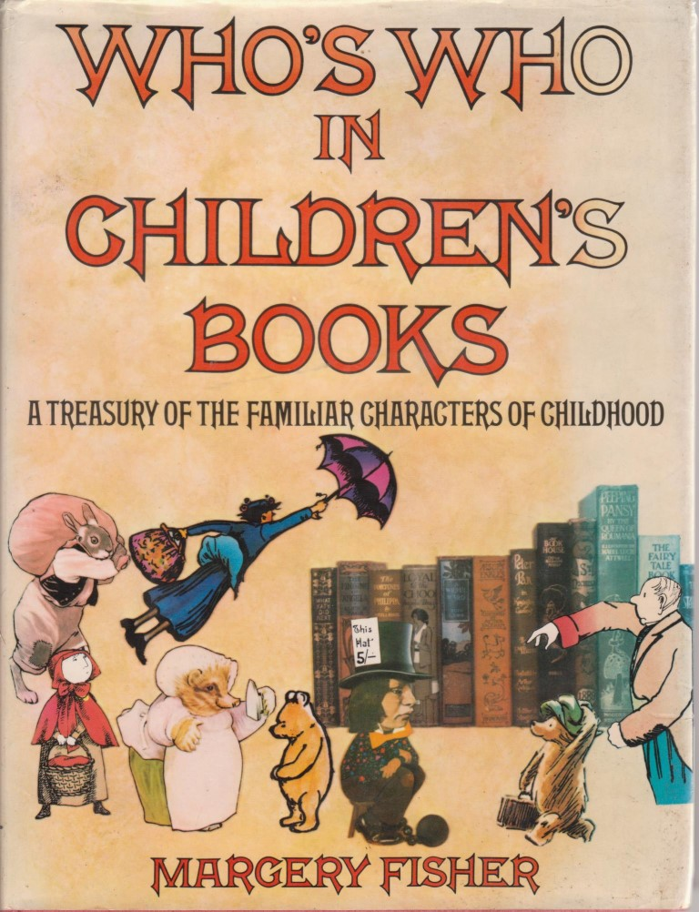 cover image of Who's Who in Children's Books, A Treasury of the familiar characters of childhood. for sale in New Zealand