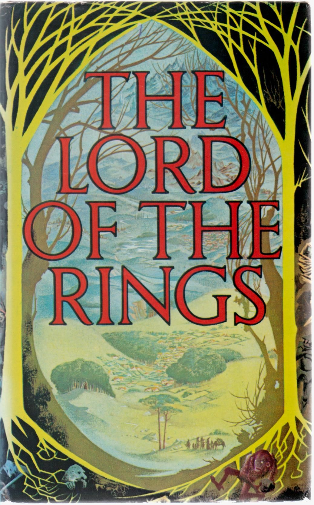 cover image of The Lord of the Rings; The Fellowship of the Ring, The Two Towers, The Return of the King one volume edition for sale in New Zealand