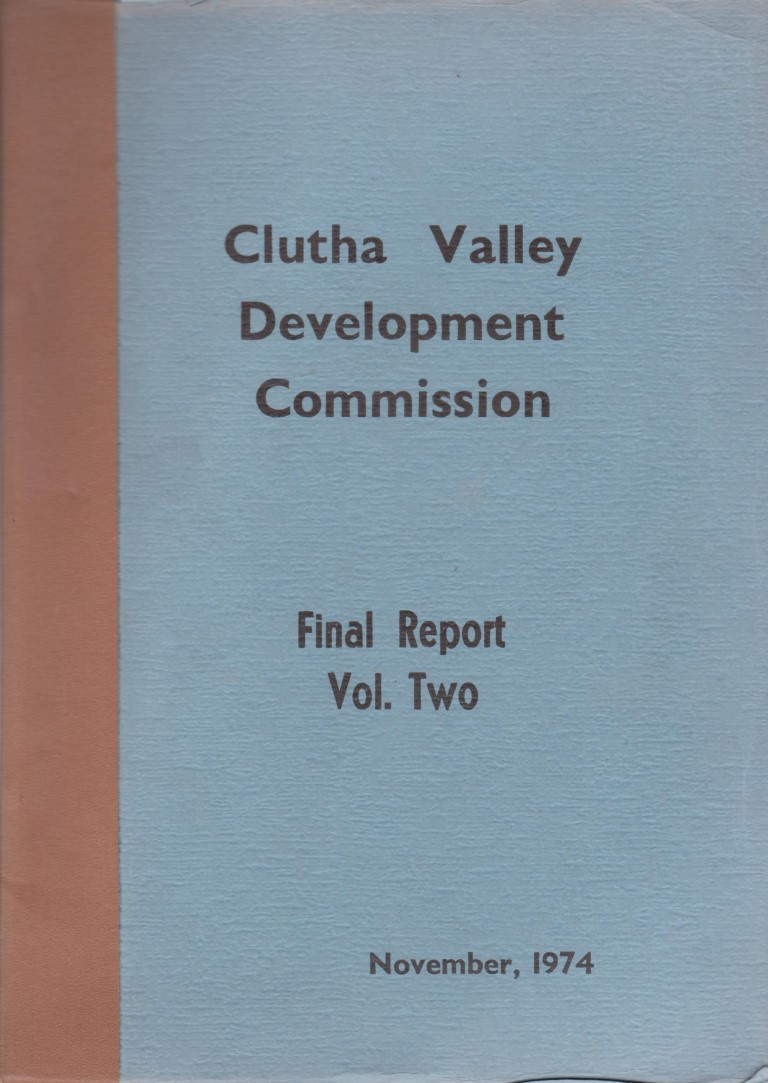 cover image of Clutha Valley Development Commission Final Report Volume Two for sale in New Zealand