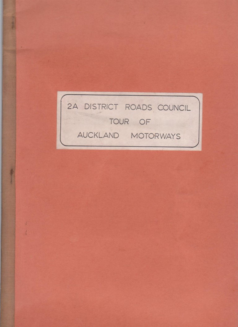 cover image of 2A District Roads Council Tour of Auckland Motorways for sale in New Zealand