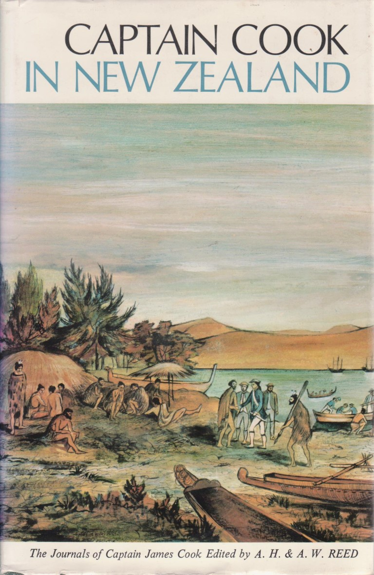 cover image of Captain Cook in New Zealand: Extracts From the Journals of Captain James Cook for sale in New Zealand