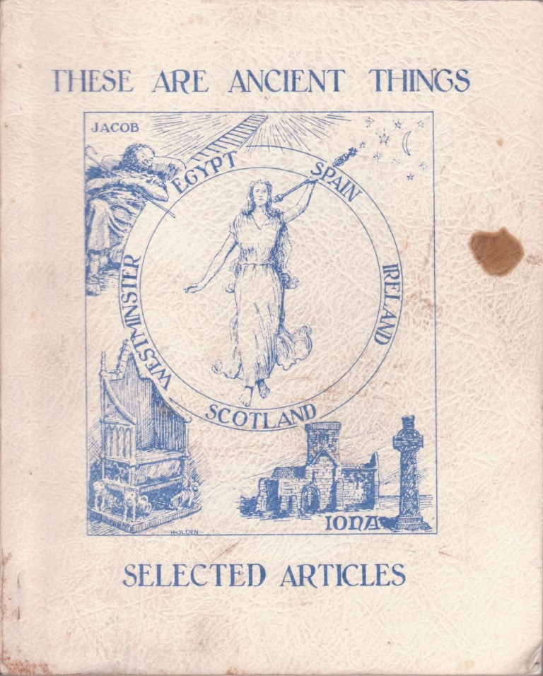 cover image of These are Ancient Things, Selected Articles from the Association of the Covenant People, for sale in New Zealand