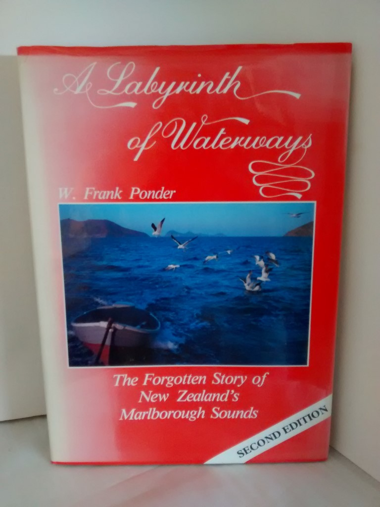 cover image of A Labyrinth of Waterways, The Forgotten Story of New Zealand's Marlborough Sounds, for sale in New Zealand