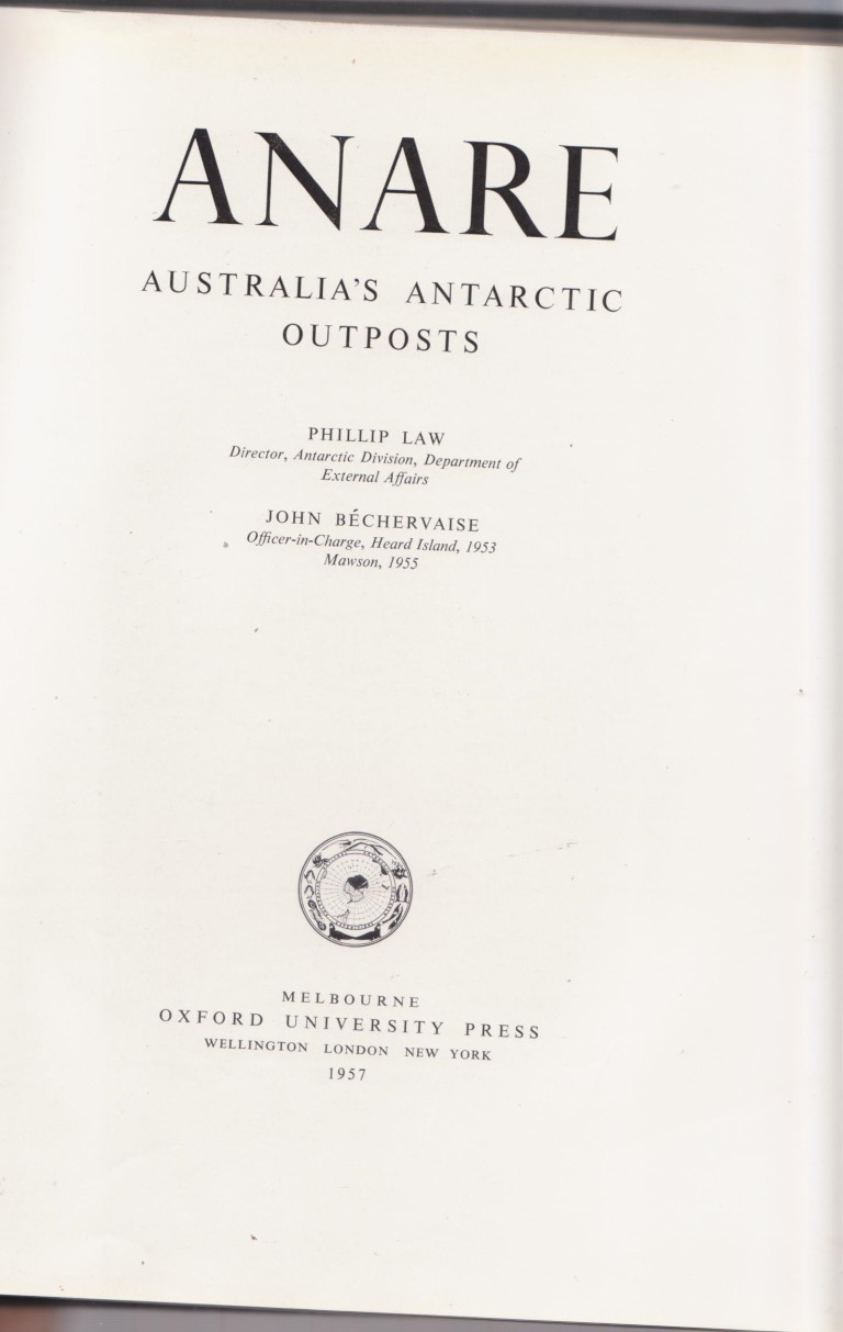cover image of ANARE Australia's Antarctic Outposts for sale in New Zealand