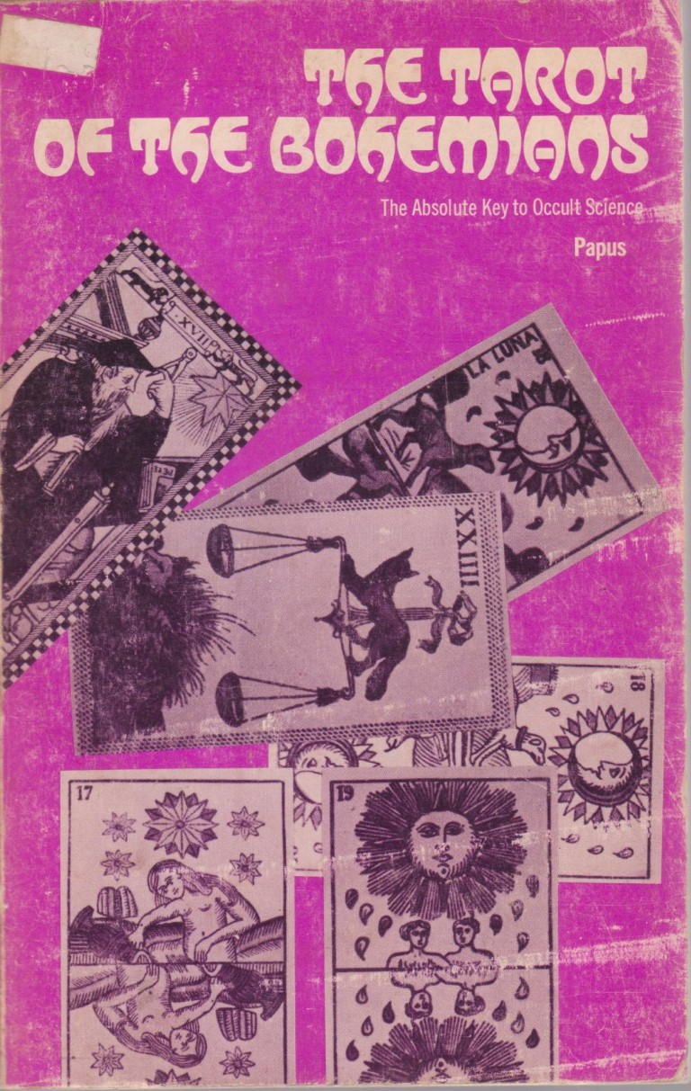 cover image of  The Tarot of the Bohemians  for sale in New Zealand
