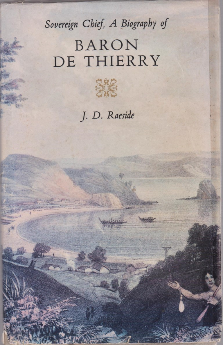 cover image of Sovereign Chief a Biography of Baron De Thierry for sale in New Zealand