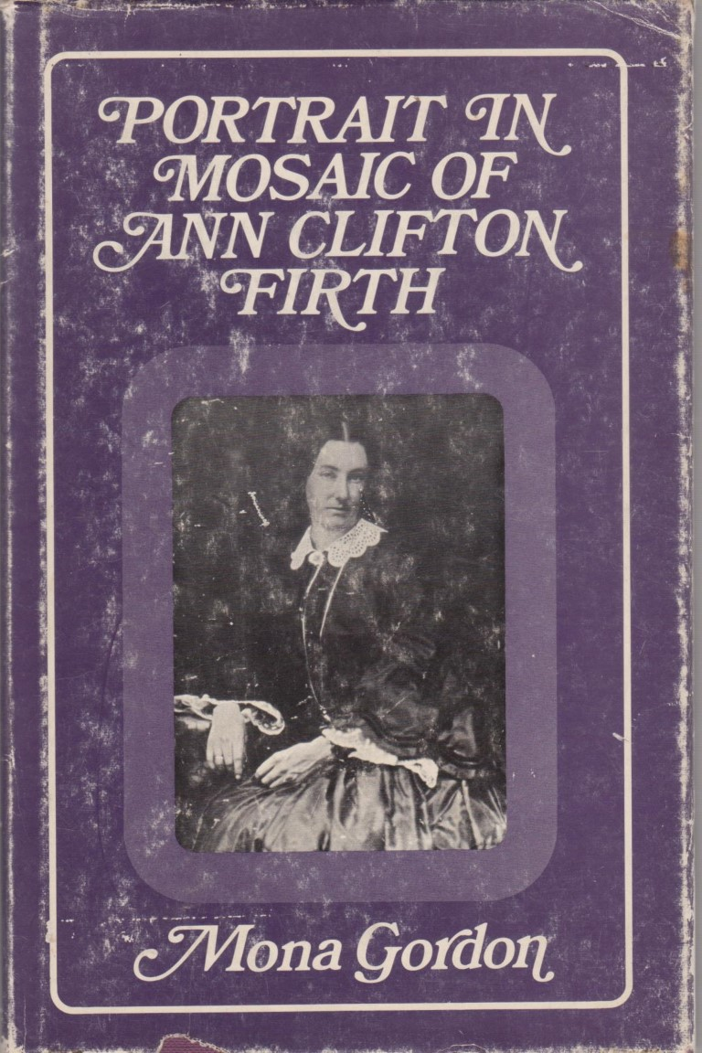 cover image of Portrait in Mosaic of Ann Clifton Firth for sale in New Zealand
