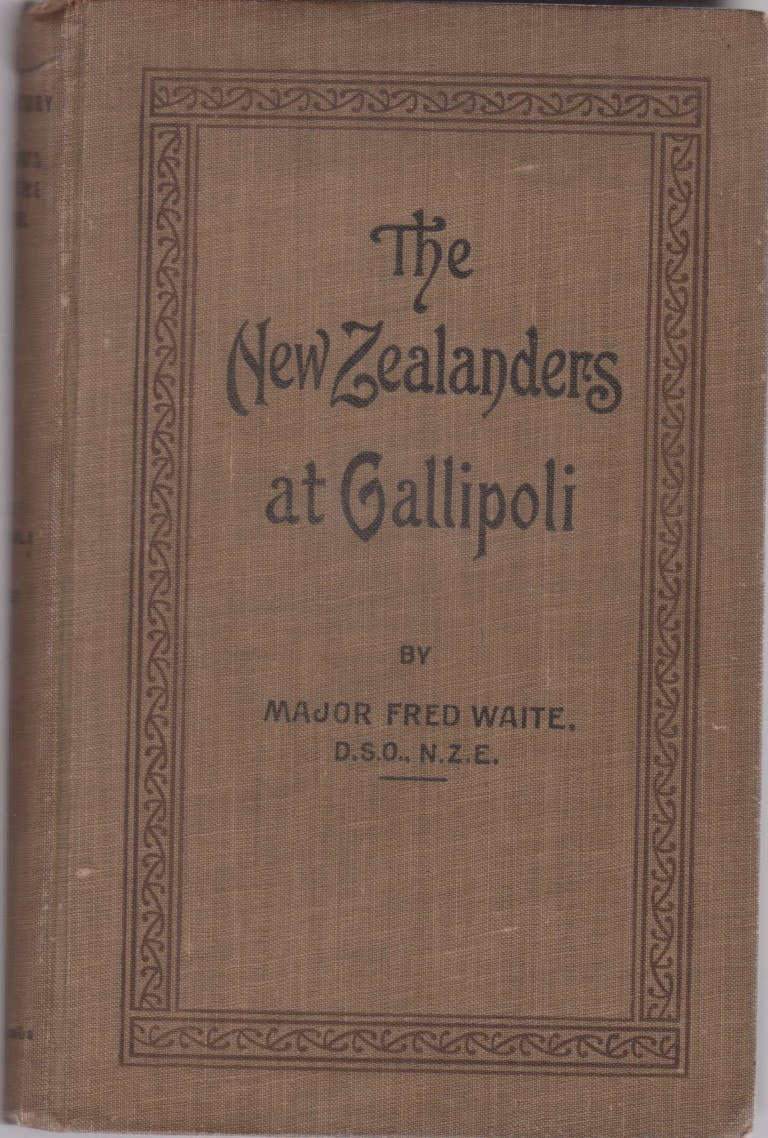 cover image of The New Zealanders at Gallipoli (Official History of New Zealand's Effort in the Great War Vol 1) for sale in New Zealand