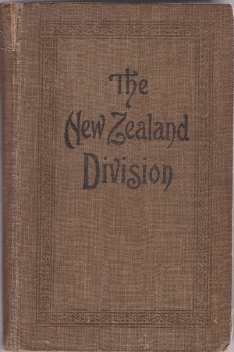 cover image of The New Zealand Division 1916-1919, France (Official History of New Zealand's Effort in the Great War Vol 2) for sale in New Zealand
