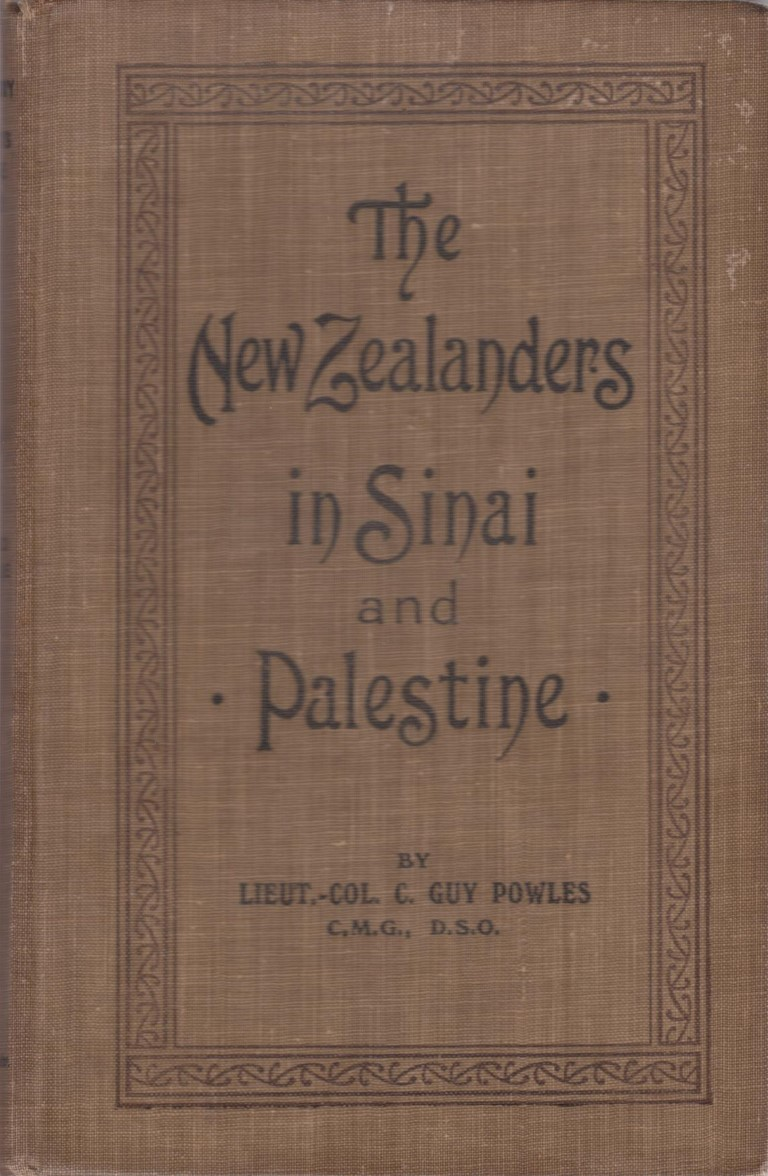 cover image of The New Zealanders in Sinai and Palestine (Official History of New Zealand's Effort in the Great War Vol 3) for sale in New Zealand